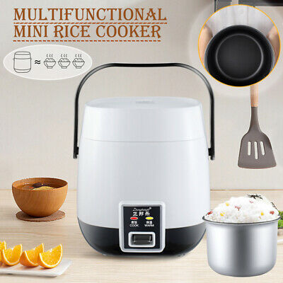 AU41.99 • Buy Electric Rice Cooker 1.2L Portable Mini Small Rice Cook 3 Cups For 1-2 Person AU
