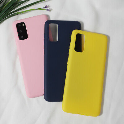 AU7.89 • Buy Phone Case For Samsung Galaxy A71 A51 Candy Colors Soft TPU Gel Protective Cover