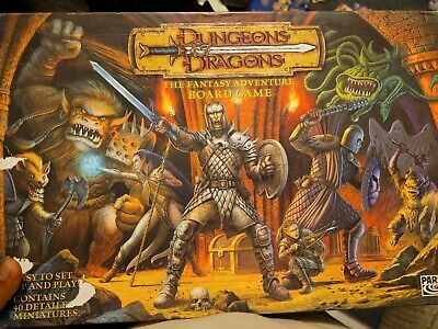 AU95 • Buy Very Rare 2003 Dungeons & Dragons Board Game