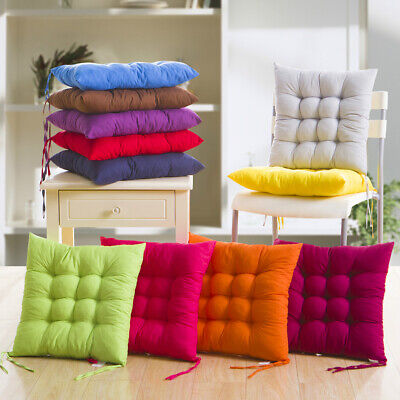 AU12.57 • Buy Soft Thicken Pad Chair Cushion Tie On Seat Dining Room Kitchen Office Decor AU
