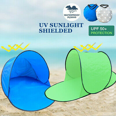 AU19.99 • Buy Waterproof Pop Up Tent Camping Outdoor Fishing UV Protection Tent Green Single
