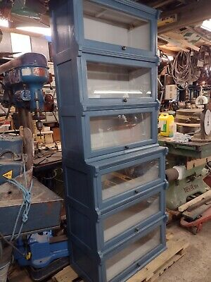 £200 • Buy Old Style Glass Fronted Stacking Bookcase.