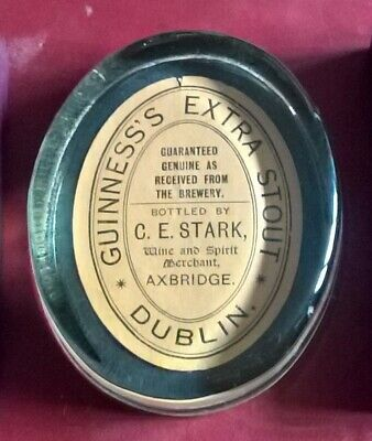 £9.95 • Buy Guinness Paperweight