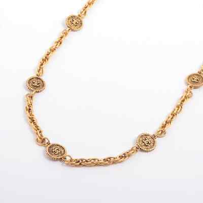 £1141.60 • Buy Chanel COCO Mark Chain Belt Gold Plated Gold Coin