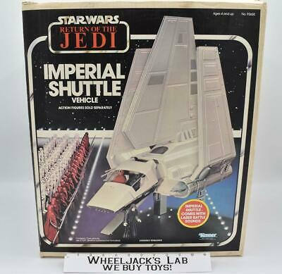 $ CDN1128.51 • Buy Imperial Shuttle Vehicle BOXED ROTJ Star Wars 1984 Kenner Vintage Action Figure