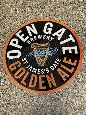 £12 • Buy Guinness Golden Ale Reproduction Tin Sign Ideal For Home Pub / Cave Advertising