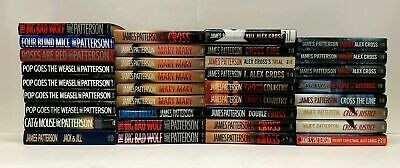£5.81 • Buy BUILD A BOOK LOT: Alex Cross Series By James Patterson: CHOOSE TITLES: Hardcover