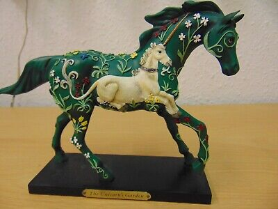 £56 • Buy Enesco The Trail Of The Painted Ponies Unicorn's Garden #4022510 Boxed Figurine
