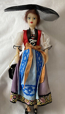 £5.95 • Buy Vintage Rexard Costume Doll. Miss Alsace-Lorraine