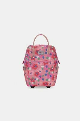 £49.99 • Buy *Cath Kidston Painted Pansies Frame Wheeled Backpack Summer Holidays Travel NEW*