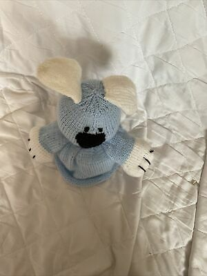 £2.50 • Buy Hand Knitted Dog Blue Toilet Roll Cover
