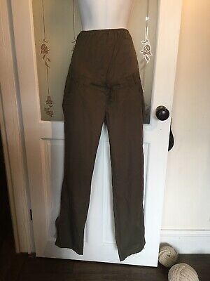 £8.99 • Buy Maternity Cargo Trousers In Khaki Size 6 From Blooming Marvellous, NWTs