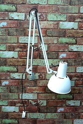 """£49.99 • Buy Anglepoise Lamp, Model 82 With Fixed Industrial Mounting""""Working"""""""