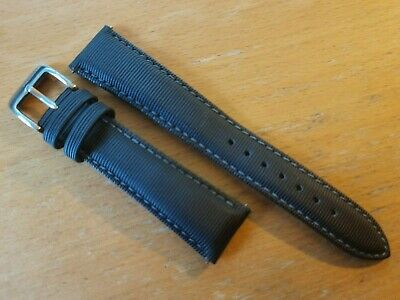 £20 • Buy ZULUDIVER Quick Release Sailcloth Padded Divers Watch Strap 20mm