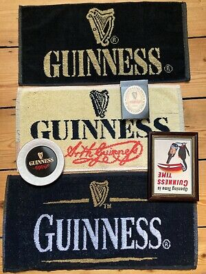 £5 • Buy Guinness Beer Clothes, Ash Tray, Cards + Picture