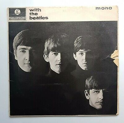£22 • Buy With The Beatles Vinyl LP Record Mono 1963 Parlophone PMC 1206 VG