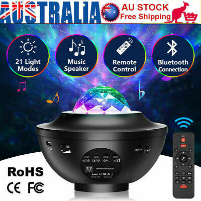 AU35.99 • Buy Bluetooth LED Galaxy Starry Night Light Projector Ocean Star Sky Party Lamp Gift