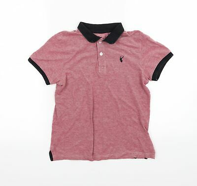 £5 • Buy Blue Zoo Boys Red   Basic Polo Size 9-10 Years