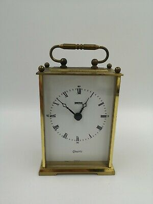 £11.50 • Buy Vintage Smiths Brass Carriage Clock - Quartz, Made In UK. Working