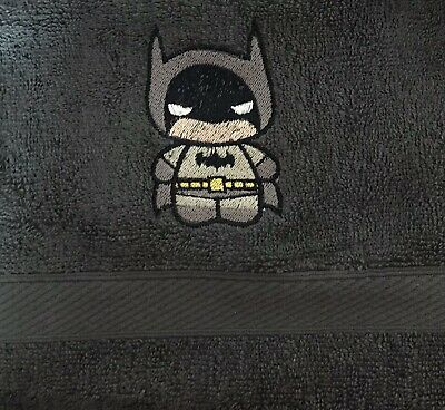 £5.99 • Buy Face Cloth With Batman Dude Embroidered Emblem