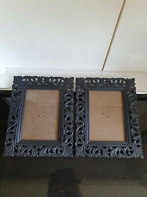 £5.50 • Buy 2 Black Plastic Gothic Style Picture Frames