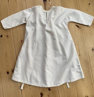 £7.70 • Buy Vintage Baby's Nightdress / Nightgown   100% Cotton   Handmade Mid 1970s