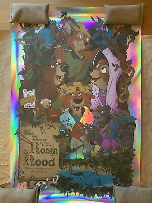 £39 • Buy Robin Hood - Limited Edition Poster Foil Edition - Scratch/Dent (Not Mondo)