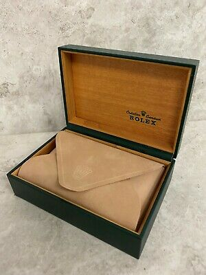 $ CDN165.69 • Buy Rolex Box - EXCEPTIONAL CONDITION. 100% REAL AND GENUINE. 80's-90's BOX.
