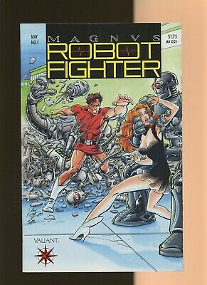 $0.99 • Buy Magnus Robot Fighter 1 VF 7.5 * 1 Book Lot * Valiant! Jim Shooter! With Coupon!