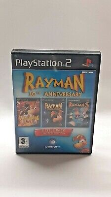 £7.99 • Buy Rayman 10th Anniversary PS2 UK PAL Working With Manual Free & Fast P&P
