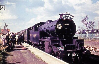 £2.69 • Buy LSWR/SR 'H16 Class' 4-6-2T No 30516 LCGB Charter At Fawley 18/9/60. 35mm Slide.