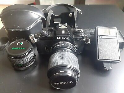 £10 • Buy Nikon Em Camera With Lenses And Flash