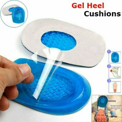 £2.21 • Buy Gel Heel Cushions Orthotic Heel Support Pad Pain Relief Foot Cup Shoe Insoles.