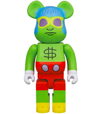 $189 • Buy Pre-Order Bearbrick MEDICOM  BE@RBRICK Andy Mouse 400% Keith Haring Andy Warhol