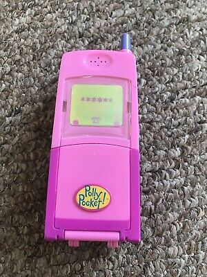 £3.70 • Buy 1998 Vintage Polly Pocket Mobile Phone With Figures