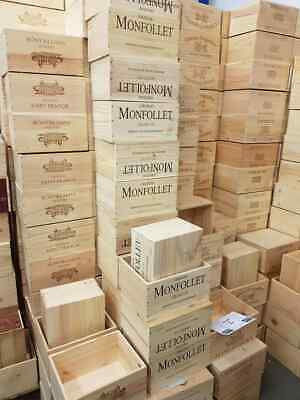 £17.95 • Buy Wooden Wine Box Crate. Ideal Garden Planters. Genuine French. Various Sizes