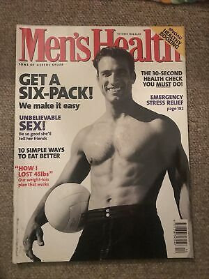 £1 • Buy Mens Health Magazine October 1998 Get A Six Pack