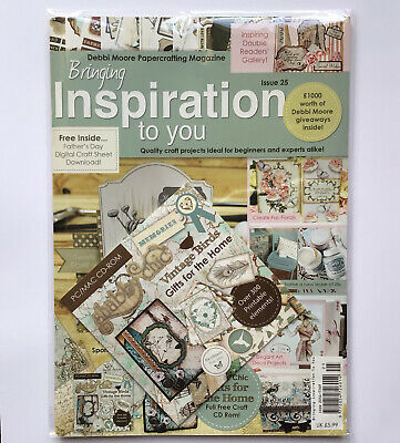 £5.99 • Buy Debbie Moore- Bringing Inspiration To You Card Making Magazine Issue 25