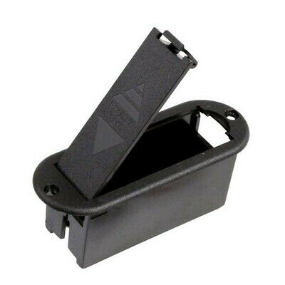 £5.03 • Buy 9V Battery Cover Case Holder Box Compartment For Guitar Bass Replacement
