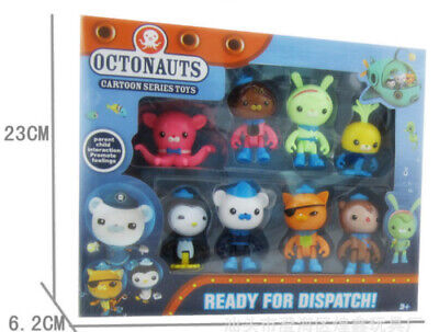 £5.99 • Buy 8PC Octonauts Expedition Action Figure Kid Childrens Toy Doll Gift Collection