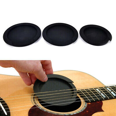 £3.29 • Buy 8.6/10/10.2cm Silicone Acoustic Guitar Sound Hole Cover Classic Buster CoverAZU