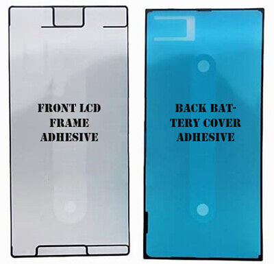 AU14.95 • Buy Sony Xperia XZ Premium Front Screen Frame, Back Battery Cover Adhesive Sticker