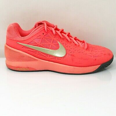 $ CDN54.13 • Buy Nike Womens Zoom Cage 2 705260-890 Red Running Shoes Lace Up Low Top Size 10