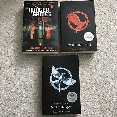 £9.99 • Buy The Hunger Games Trilogy Book Bundle Catching Fire Mockingjay