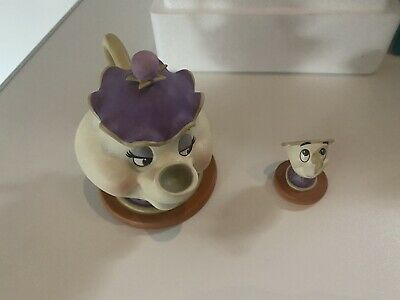 £30 • Buy Mrs Potts And Chip WALT DISNEY CLASSIC COLLECTION BEAUTY AND THE BEAST
