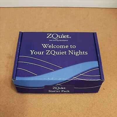 AU47.29 • Buy Anti-Snoring Device ZQuiet 2 Size Starter Pack #1 & #2 OPENED BOX