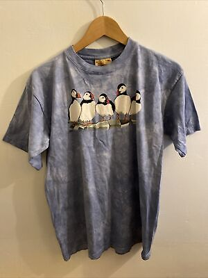 £24.99 • Buy The Mountain Men's T-Shirt XL Fairy Puffin The Original Hand Dyed USA
