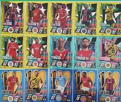 AU2.99 • Buy 50% OFF! 2020/21 Match Attax UEFA Cards - Special, Foil & Update Cards