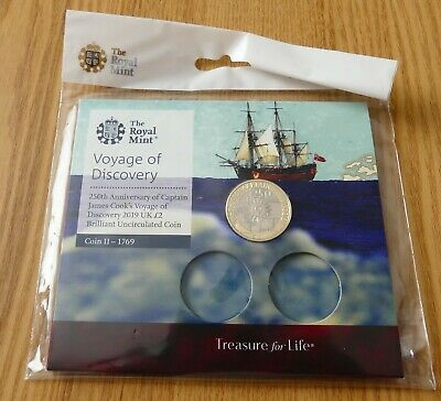 £0.99 • Buy Voyage Of Discovery 2019 £2 Coin