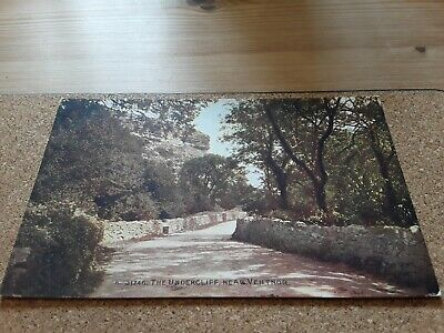 £3.85 • Buy POSTCARD THE UNDERCLIFF NR VENTNOR ISLE OF WIGHT Nr WHITWELL, BLACKGANG IOW IW